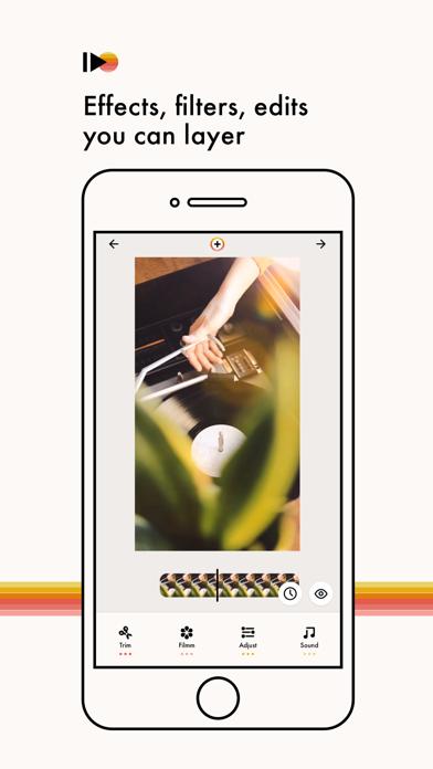 Filmm | Video Effects + Color screenshot one