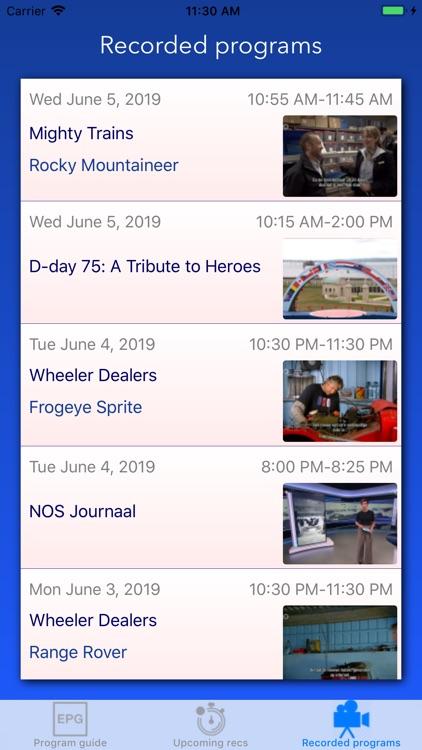 GloriousMythTV screenshot-6