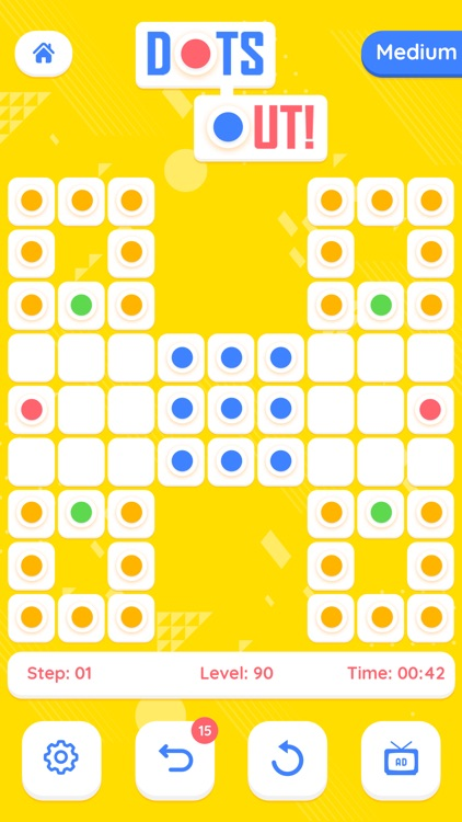 Dots Out - A puzzle Adventure screenshot-6