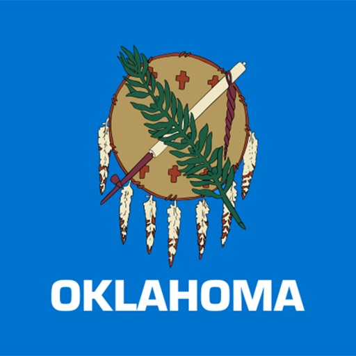 Oklahoma emoji - USA sticker