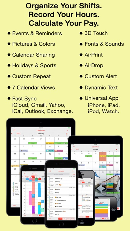 ShiftLife Organizer screenshot-0