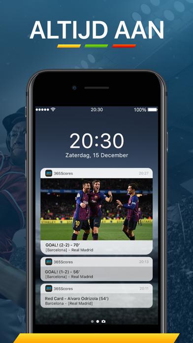 Screenshot for 365Scores - Live Uitslagen in Netherlands App Store