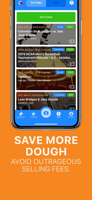 TicketFire · Buy, Sell Tickets on the App Store