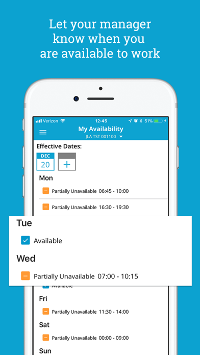 Screenshot for HotSchedules in Turkey App Store