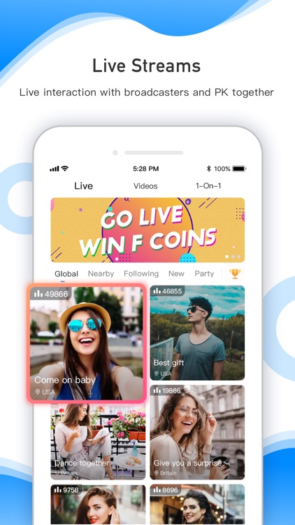 FaceCast-Meet Amazing People screenshot-0