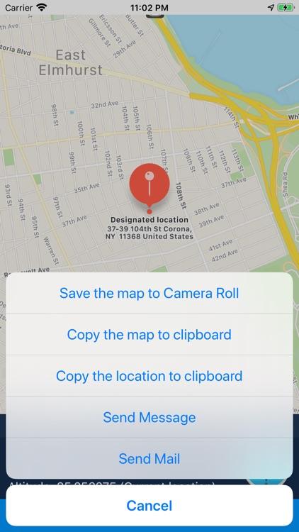 iLocation: Here! screenshot-6