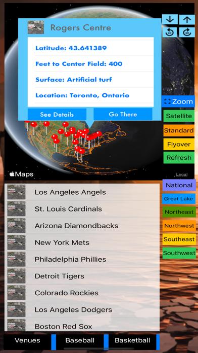 Sport Stadiums Pro - 3D Cities screenshot 2