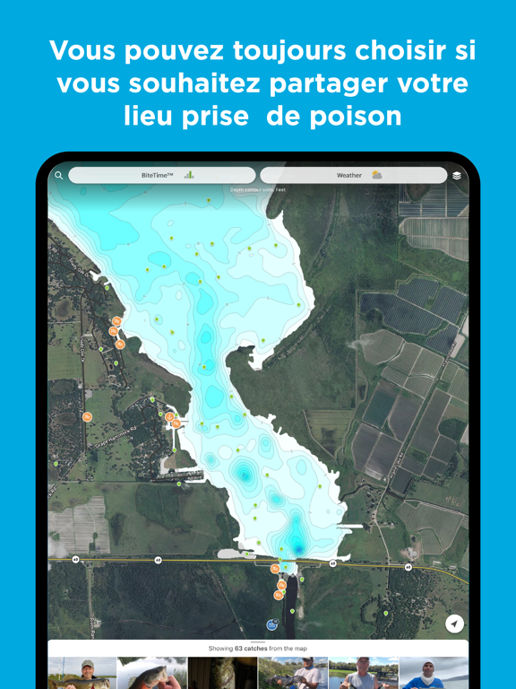 Screenshot #5 pour Fishbrain - Fishing App