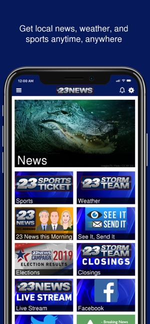 23 News to Go on the App Store