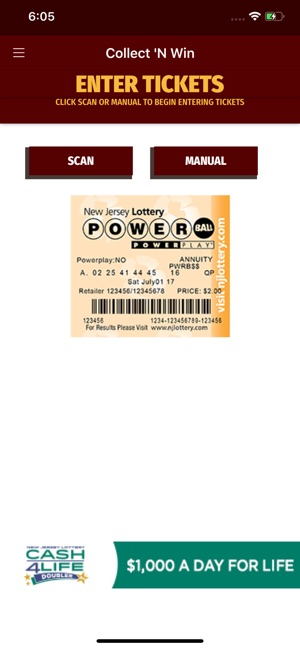 NJ Lottery CNW on the App Store