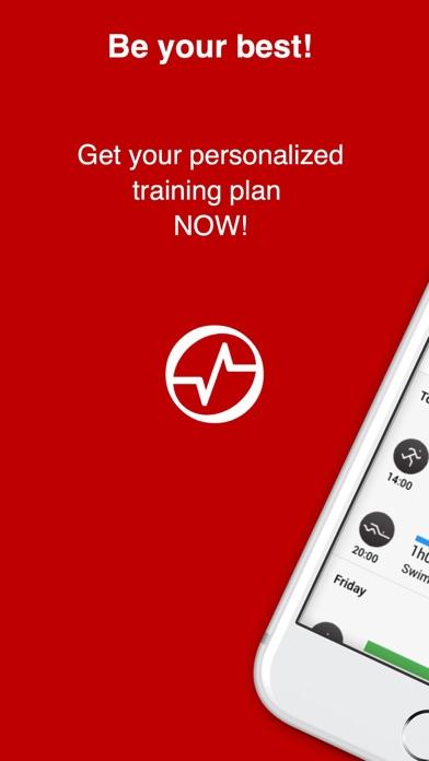 Running training Plans screenshot one