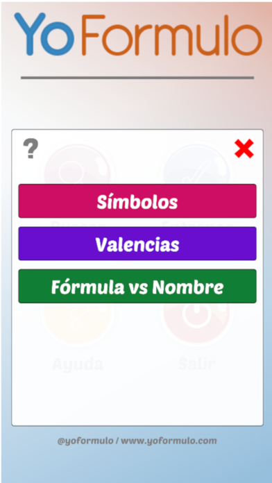 YoFormulo Formulación química screenshot 6