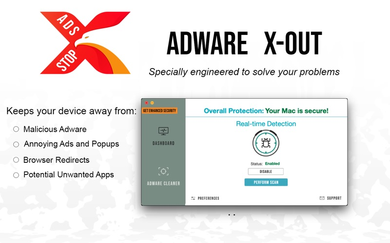 Adware X-Out Screenshot