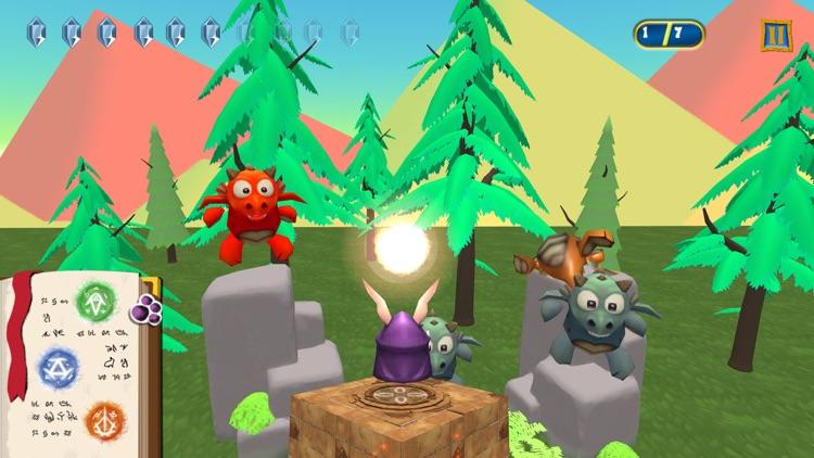 Magic Rabbit vs Dragons screenshot-4