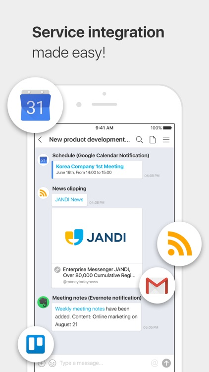 JANDI: Team Collaboration Tool screenshot-3
