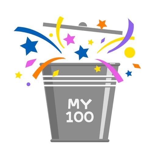 MY BUCKET LIST 100