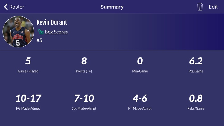 Easy Stats for Basketball screenshot-4