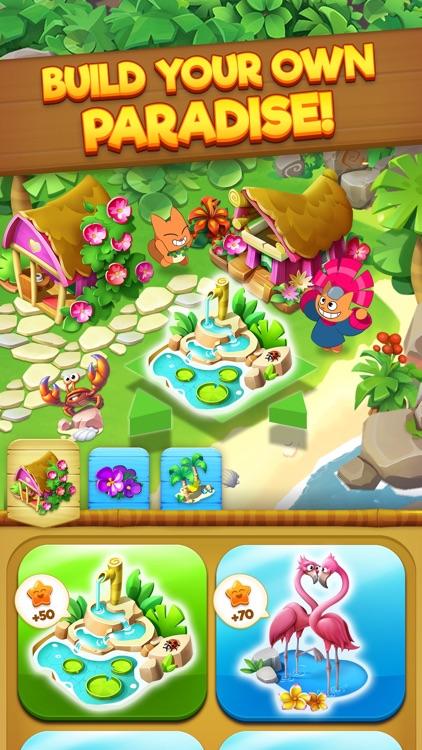 Tropicats: Match 3 Puzzle Game screenshot-4