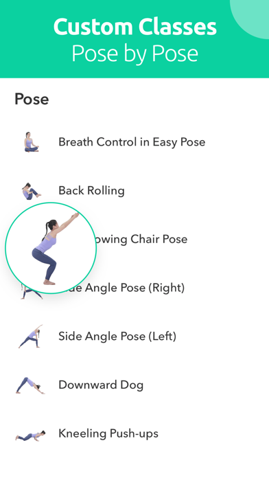 YogaMe-Personal Yoga Plan Screenshot
