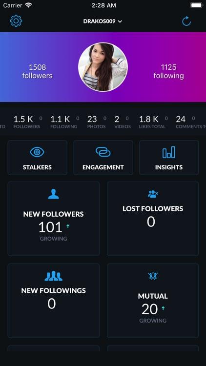 Followers for Instagram Spy