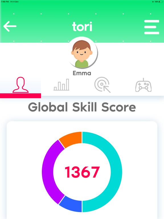 tori™ Dashboard screenshot 5