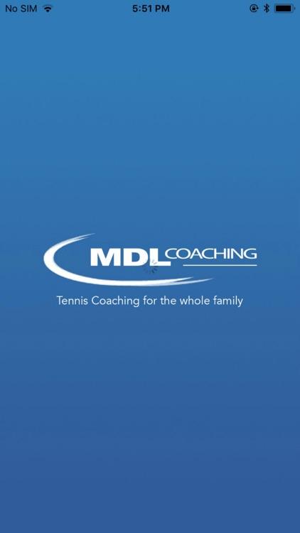 MDL Coaching Tennis App