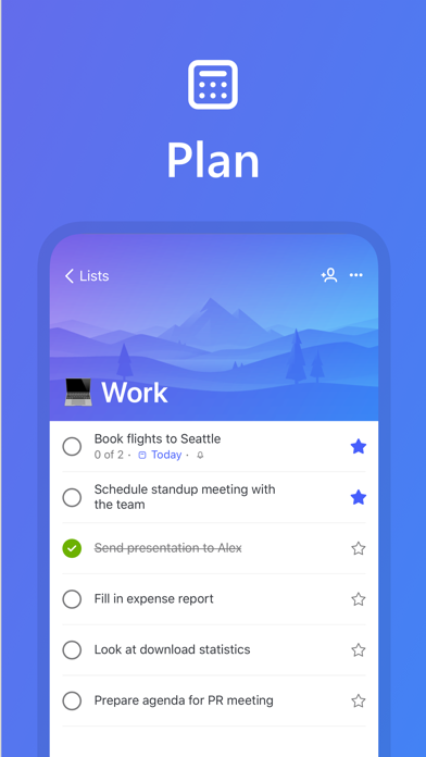 Microsoft To-Do screenshot 2