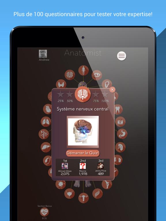 Screenshot #5 pour Anatomist – Anatomie Quiz Jeu