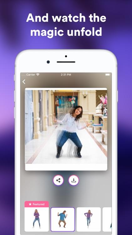 Jiggy: Magic Dance GIF Maker screenshot-3