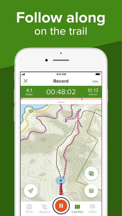 AllTrails: Hike, Bike & Run Screenshot