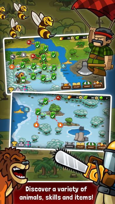 Lumberwhack: Defend the WildCaptura de pantalla de2