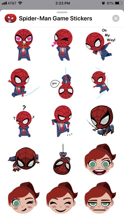 Spider-Man Game Stickers screenshot-3