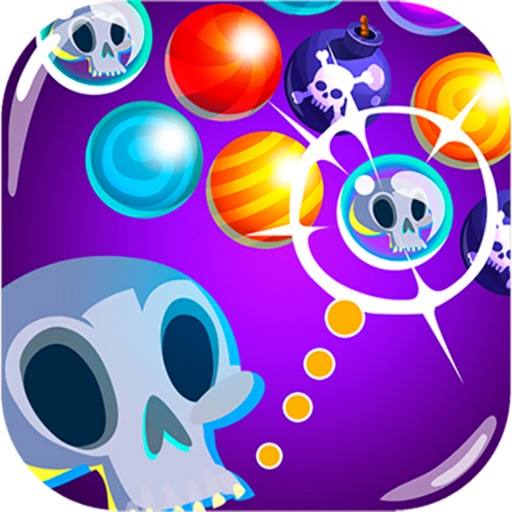 Halloween Scary Bubble Shooter icon