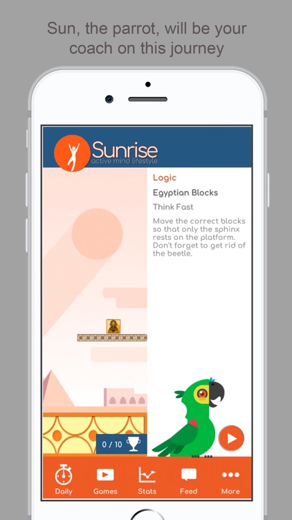 Sunrise -active mind lifestyle screenshot-2