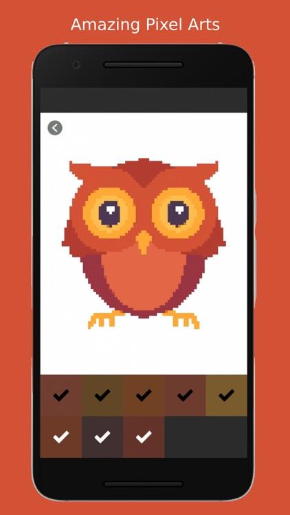 Pixel Art Color by Numbers 2D screenshot-3