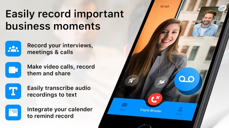 Interview & Meeting Recorder