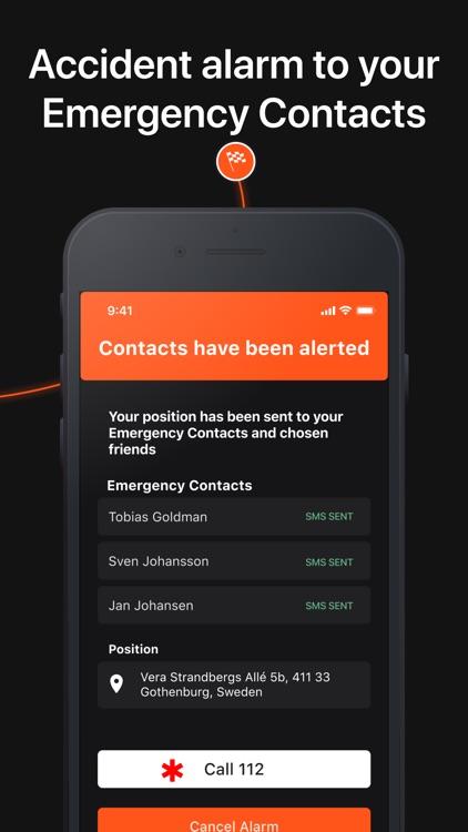 Detecht - Motorcycle App & GPS screenshot-9