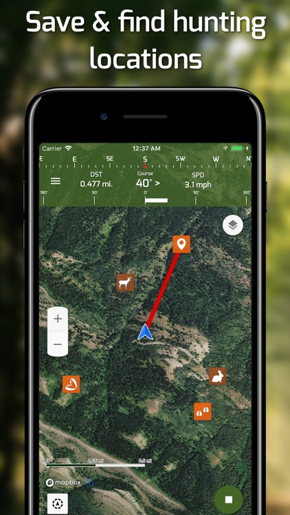 Hunting Points: GPS Hunt Maps
