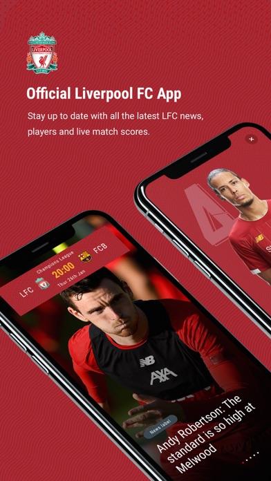 تحميل The Official Liverpool FC App للكمبيوتر