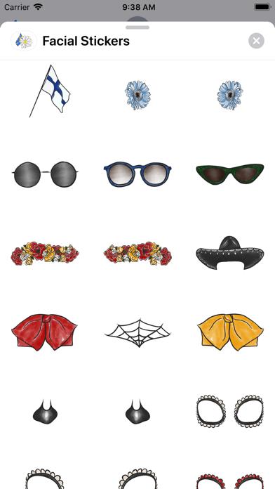 Facial Stickers screenshot four