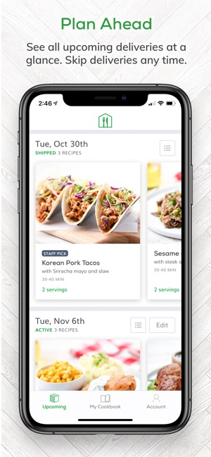 home chef meal kit delivery on the app store rh itunes apple com