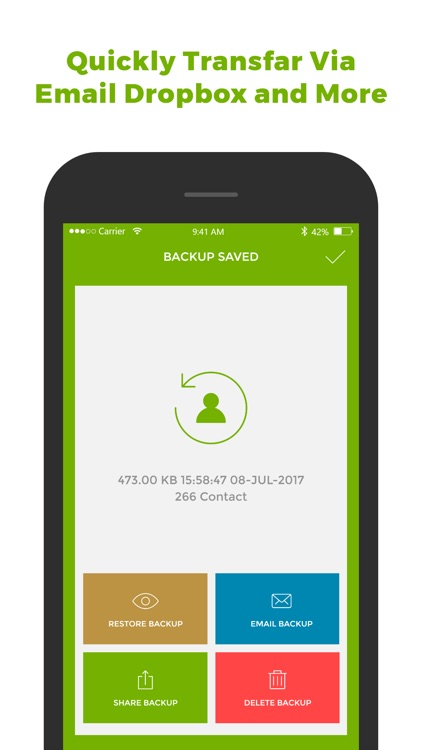 My Contact Backup & Restore