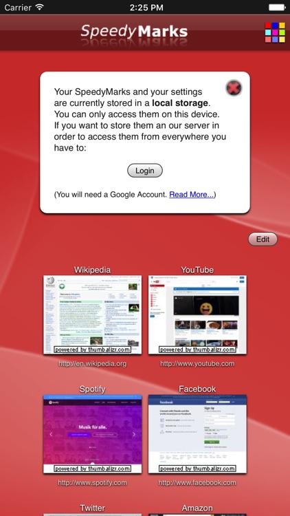 SpeedyMarks screenshot-3