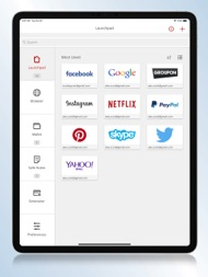 True Key™ by McAfee ipad images