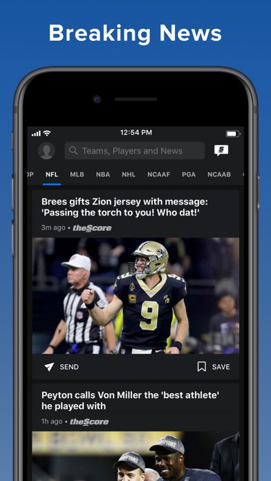theScore: Sports News & Scores screenshot three