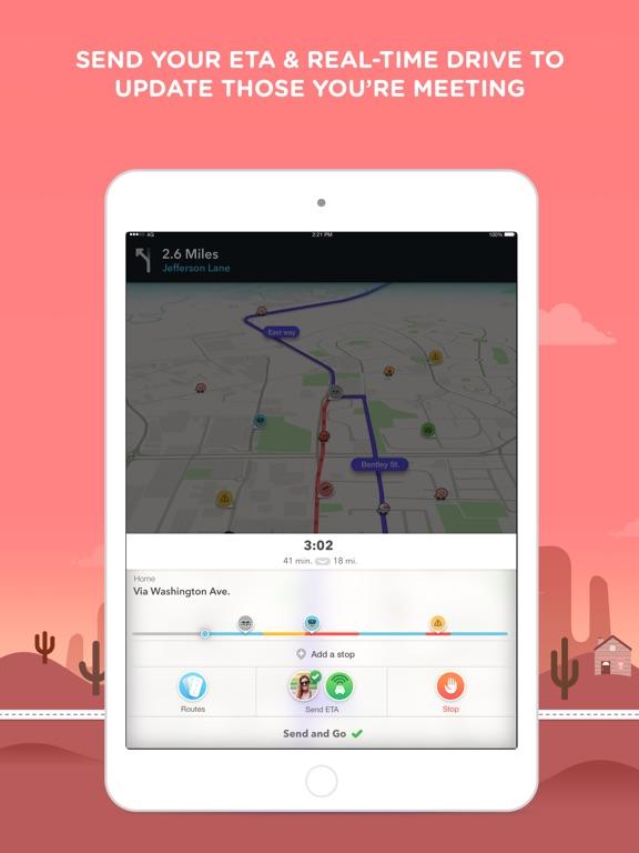 Waze Navigation & Live Traffic-ipad-3