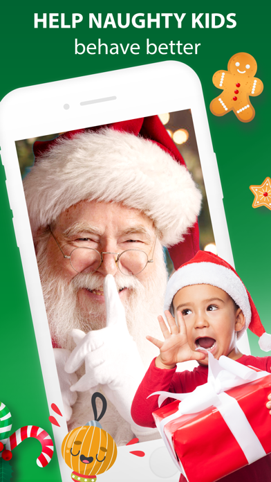 Santa Claus Video Message App screenshot 2
