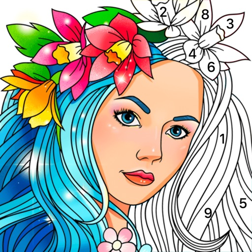 Color Fun - Color by Number icon