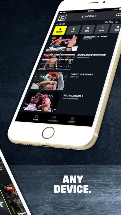 DAZN: Live Boxing, MMA & MLB