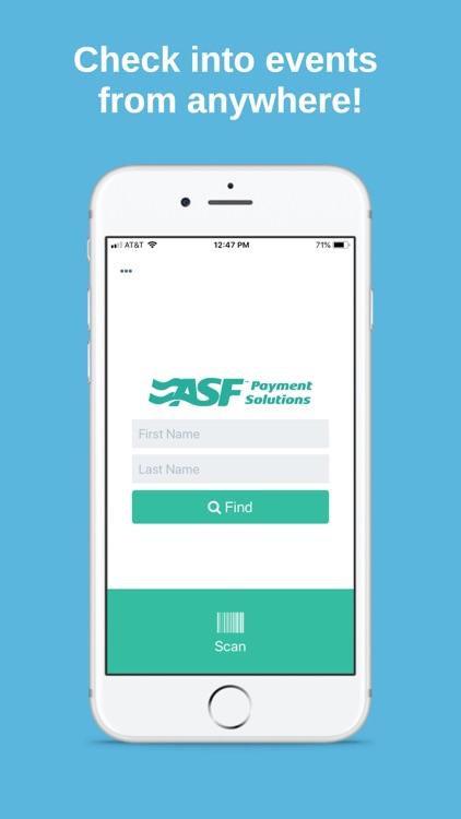 ASF Self Check-In